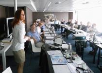 Presentatie 'Gezond eten offshore' tijdens International Joint Offshore Doctors Meeting