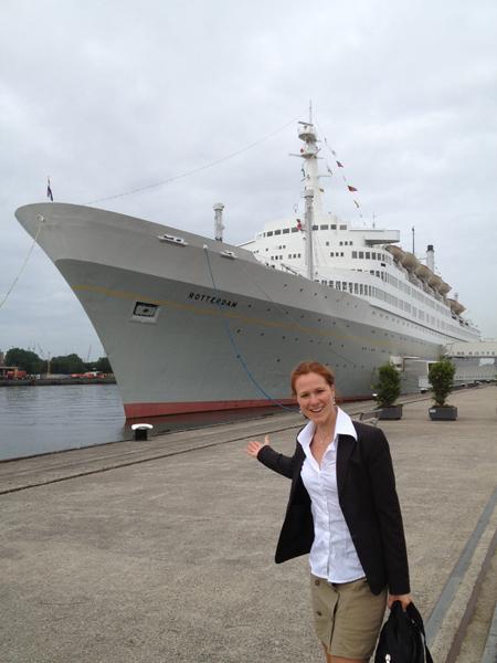 Gezond Eten Offshore op International Doctors Meeting