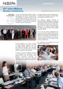 Katrin Beersen- gastspreker duurzaam inzetbaar & gezonde voeding bij int. offshore doctors meeting