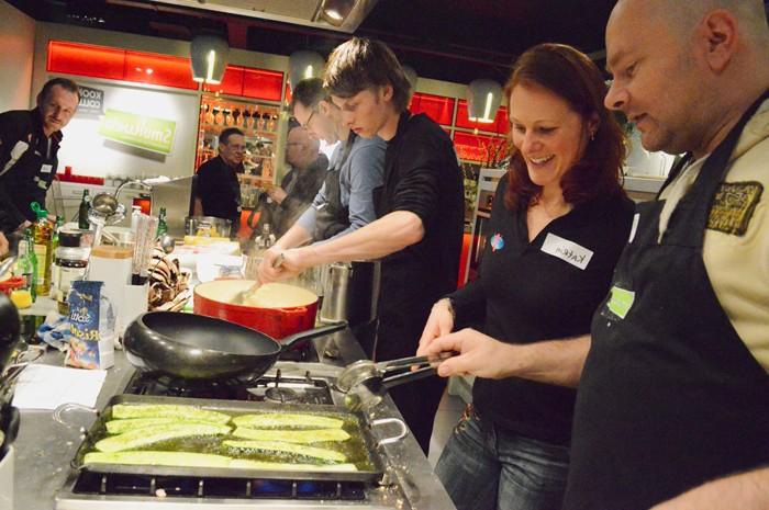 Kookworkshop gezond genieten met chefkoks en voedingsdeskundigen | Enerjoy