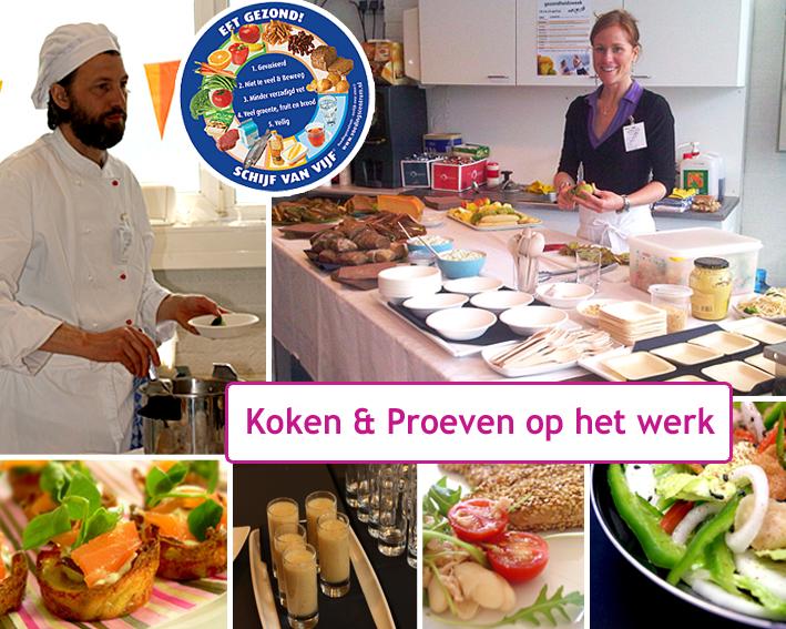 Koken & Proeven op het werk is puur infotainment