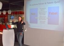 Katrin legt de spelregels van de Quiz uit | Enerjoy