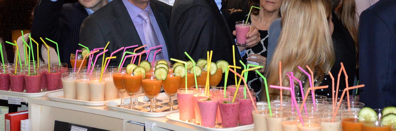 Gezonde smoothies tijdens bedrijfsborrel|Enerjoy