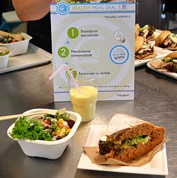 Gemakkelijk een gezonde lunch op het werk met de Healthy Meal Deal