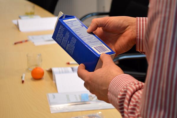 Leer etiketten lezen tijdens workshop - Enerjoy