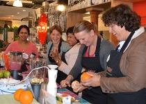 Workshop gezonde smoothies maken is leerzaam, leuk & gezellig!